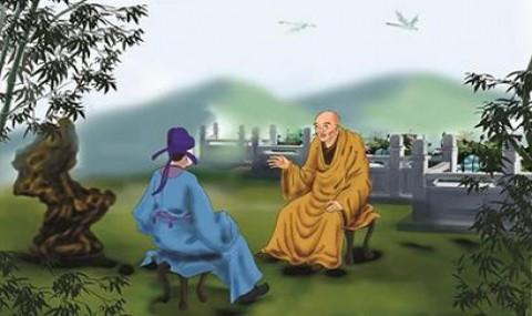 Cuộc hội thoại thú vị giữa chàng trai và vị thiền sư